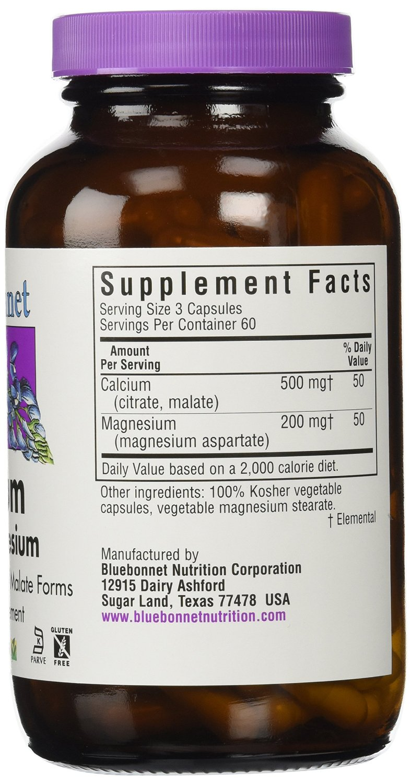 ... BlueBonnet Calcium Citrate Plus Magnesium Vegetarian Capsules, ...