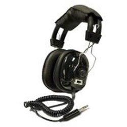 Bounty Hunter Metal Detector Binaural Headphone - Black (HEADW)