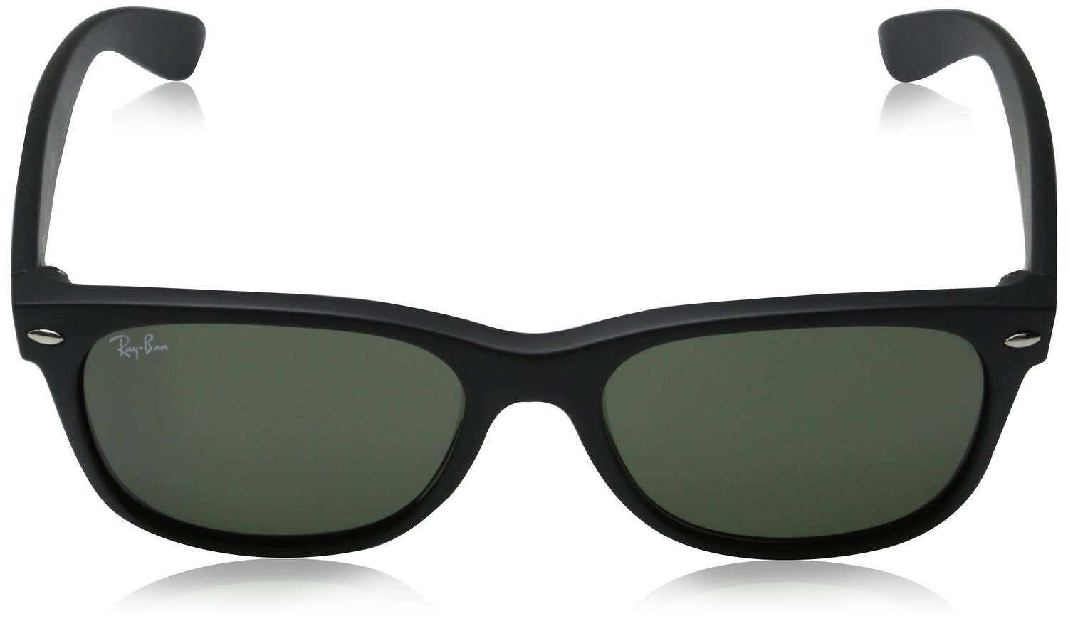 3a53b9727f ... Ray-Ban Wayfarer Non-Polarized Sunglasses - Black Green Lens - 55mm ...