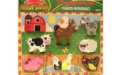 Melissa & Doug Farm Chunky Puzzle 7