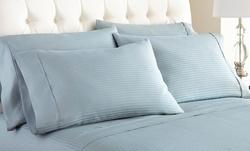 Wexley Home 600TC Cotton Rich Sheet Set: Mocha/K