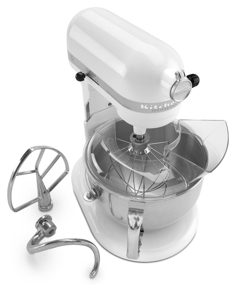 Strange Kitchenaid Kp26M1Xwh Professional Series 600 6 Quart Qt Download Free Architecture Designs Scobabritishbridgeorg