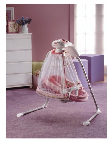Fisher Price Cradle N Swing For Baby Babies Pink K7923