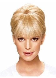 Ken Paves Clip-In Bang Hair Extension 1 piece Ebony/Black
