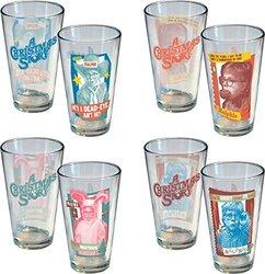A Christmas Story Ralphie 16 oz Pint Glasses Pack 4