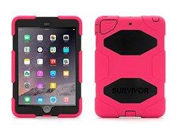Griffin Survivor All-terrain Tablet Case for iPad Mini - Pink/Black