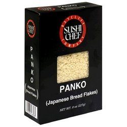 Sushi Chef Panko Japanese Bread Flakes, 8-Ounce Boxes (Pack of 6)