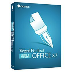 Corel(R) WordPerfect(R) Office X7 Home Student Edition, Traditional Disc