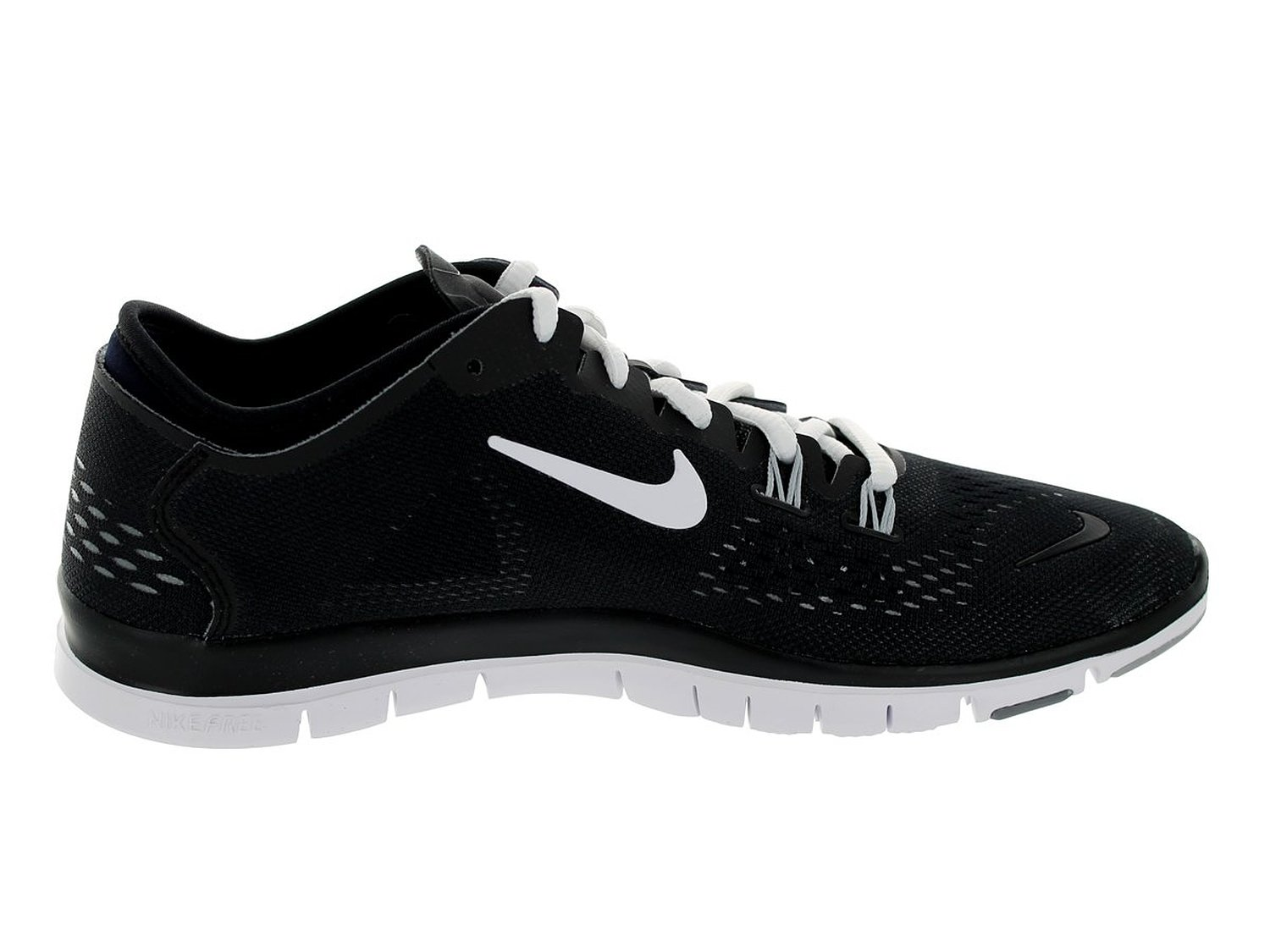 nike free 5.0 tr fit 4 - womens black and white