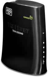 TRENDnet N900 Dual Band Wireless Media Bridge, TEW-680MB