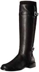 A2 by Aerosoles Women's High Riding Boots - Black Combo - Size: 6.5 M