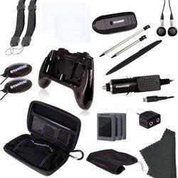 dreamGEAR Nintendo 3DS 20-in-1 Essentials Kit black