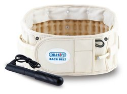 DR-HO's 2-In-1 Back Relief Belt, Size A: 25 - 41 Inch