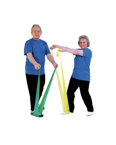 Exercise Bands Green: Thera-band Latex Free Exercise Bands