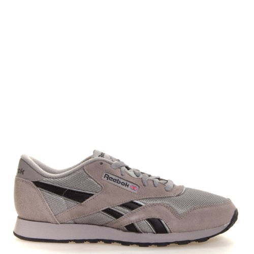 Reebok Men's Classic Nylon R13 Shoes CarbonBlackSilver