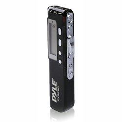 Pyle Digital Voice Recorder LCD Display & Built-in Speaker (PVR200)