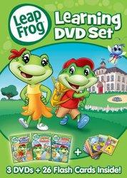 Lions Gate - LeapFrog: Learning DVD Set - 3-Discs + 26 Flash Cards