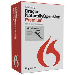 Dragon NaturallySpeaking Premium 13 with Bluetooth Headset - English