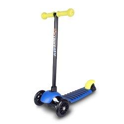 YBIKE GLX 3-Wheeled Scooter Blue