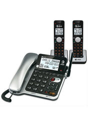 AT&T DECT 6.0 Three-Handset Corded/Cordless Digital Answering System