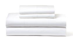 Amrapur Overseas 1200TC Egyptian Cotton-Rich Sheet Set - White - Size:Q