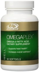 AdvoCare OmegaPlex Fatty Acid Dietary Supplement - 90 Softgels Capsules