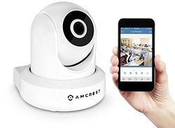 Amcrest 1080p Wi-Fi Video Monitoring Security Wireless Camera (IP2M-841W)