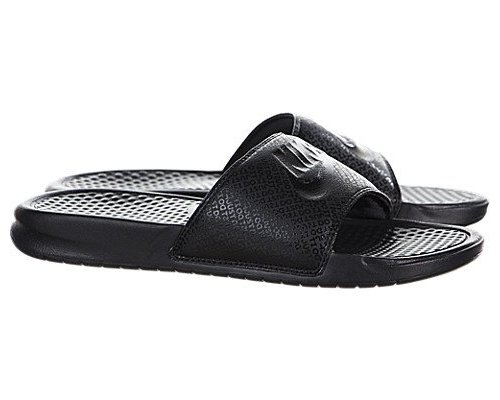 93333072b3426 ... Nike Mens Benassi JDI Slide Black Black 343880 001 (10 D(M) ...