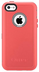 OtterBox Defender Series Tutti Fruiti Case for iPhone 5C - Retail Packaging - Powder Grey/Candy Pink