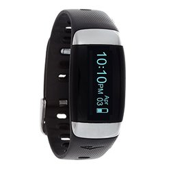 Everlast Automatic Plastic & Rubber Fitness Watch - Black