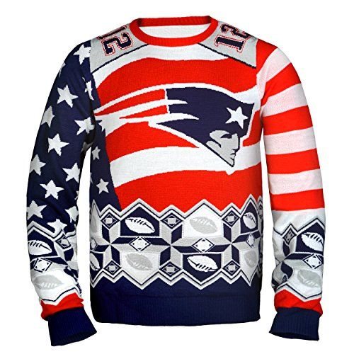 mens nfl tom brady 12 ugly christmas sweater new england patriotsm