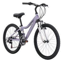 Diamondback 2015 Lustre Complete Girls Hardtail Mountain Bike Purple - 24""