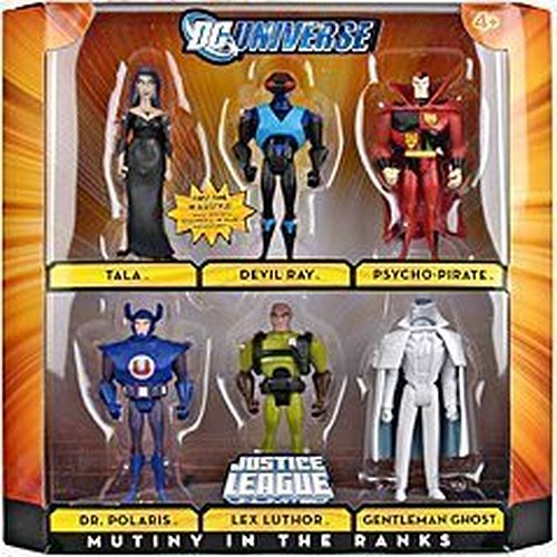Best Justice League Toys And Action Figures For Kids : Dc comics quot pcs justice league unlimited villain