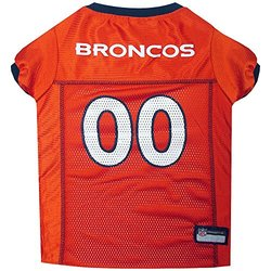 NFL AFC Pet Mesh Jerseys: Denver Broncos/Large