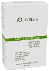 Olivella Virgin Olive Oil Face and Body Bar Soap - 5.29 Oz, 3 Pack