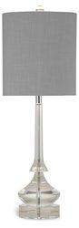 Bassett Mirror Crystal Kristina Table Lamp - Grey/Silver