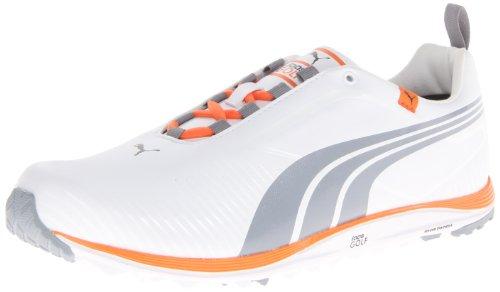 ... Puma Men s Faas Lite Golf Shoe - White Vibrant Orange - Size  12 D ... 07727e1a8