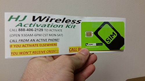 Simple Mobile Nano SIM Card for T Mobile iPhone 6/6 Plus/5/5s/5c and  Unlocked iPhones w/ $40 Airtime - Check Back Soon