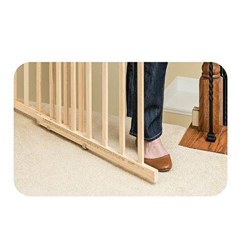 e85af0f79 Evenflo Top Of Stair Extra Tall Wood Gate - Home Design Ideas and ...