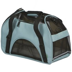 Bergan Comfort Carrier Soft-Sided Pet Carrier - Mineral Blue - Size: Small