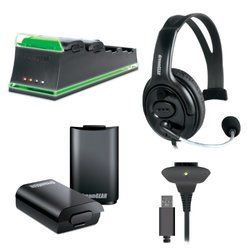 dreamGEAR 5-In-1 Essentials Pack - Xbox 360