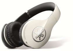 Yamaha Pro 400 High-Fidelity Over-Ear Headphones, White