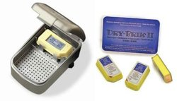 Dry and Store Zephyr Hearing Aid Dryer - Includes 3 Pack of Desiccants
