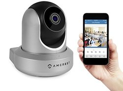 Amcrest 720P Wi-Fi Video Monitoring Security Wireless IP Camera (IPM-721S)