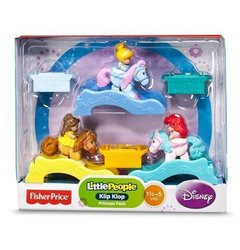 Fisher-Price Little People Disney Princess Klip Klops - 3 Pack
