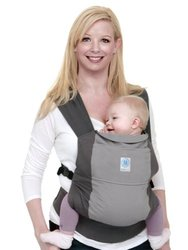 Moby Wrap Baby Carrier - Go Pocket Gray
