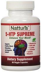 Nattura 5-HTP Supreme For Positive Mood & Appetite Control - 90 Capsules