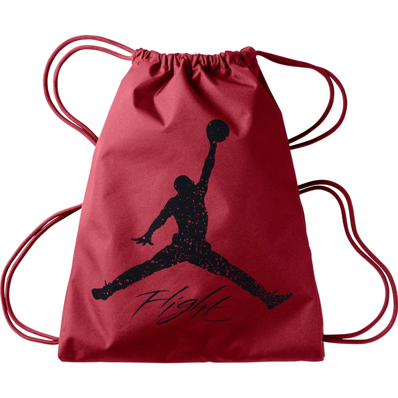 6ca0137e032555 Nike Flight Jordan Dominate Gymsack Bag - Red Black - Check Back ...