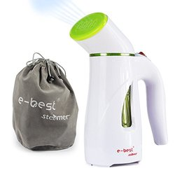 E-best Mini Travel Garment Steamer,Travel Portable Clothes Ironing Steam Cleaner with Pouch