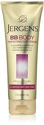 Jergens BB Body Cream for All Medium-Deep Skin Tones, 7.5 Ounce